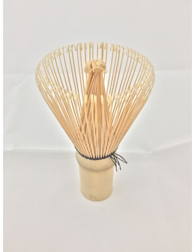 Escobilla batidor de bambú para té matcha