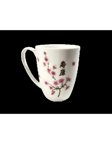 Taza flor de almendro